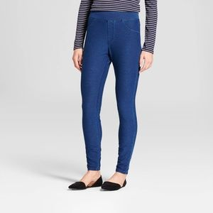 Women's 5-Pocket Jeggings - A New Day™ Blue